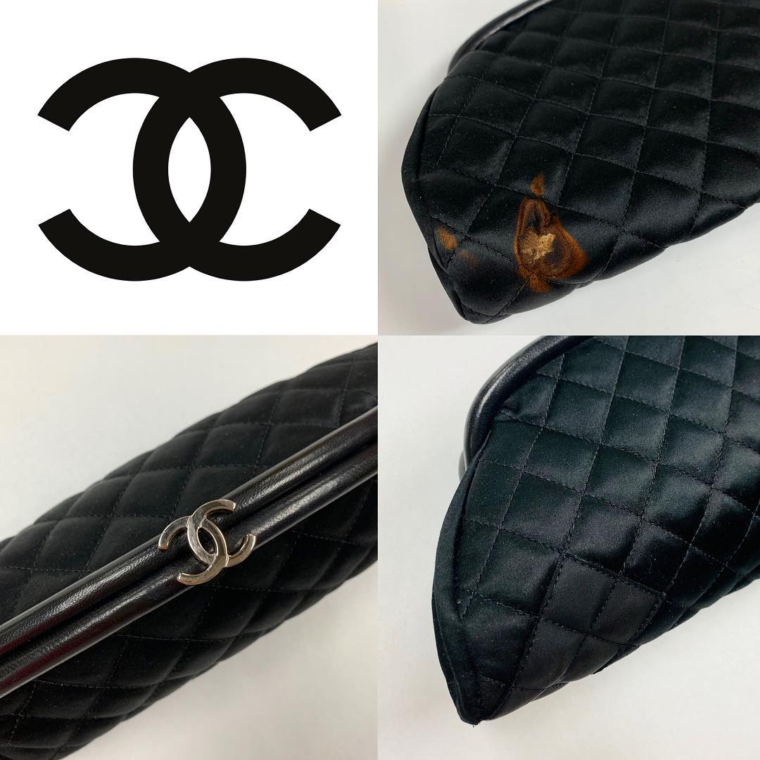 Chanel Clutch Fire Damage