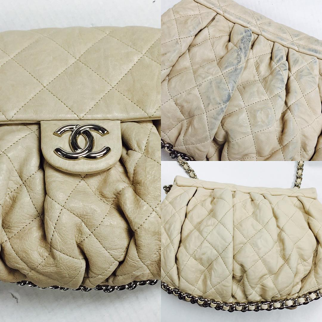 Chanel Dye Transfer Refinishing