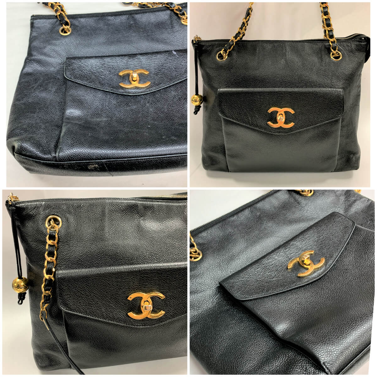 Chanel Leather Cleaning and Refinishing