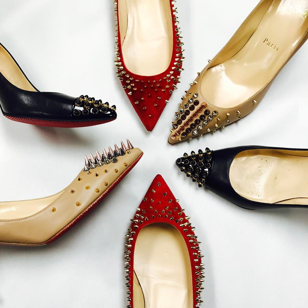 Christian Louboutin Spiked Shoes Collection