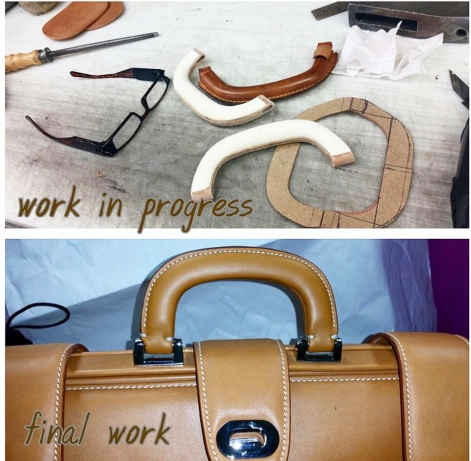 Custom Briefcase Handle