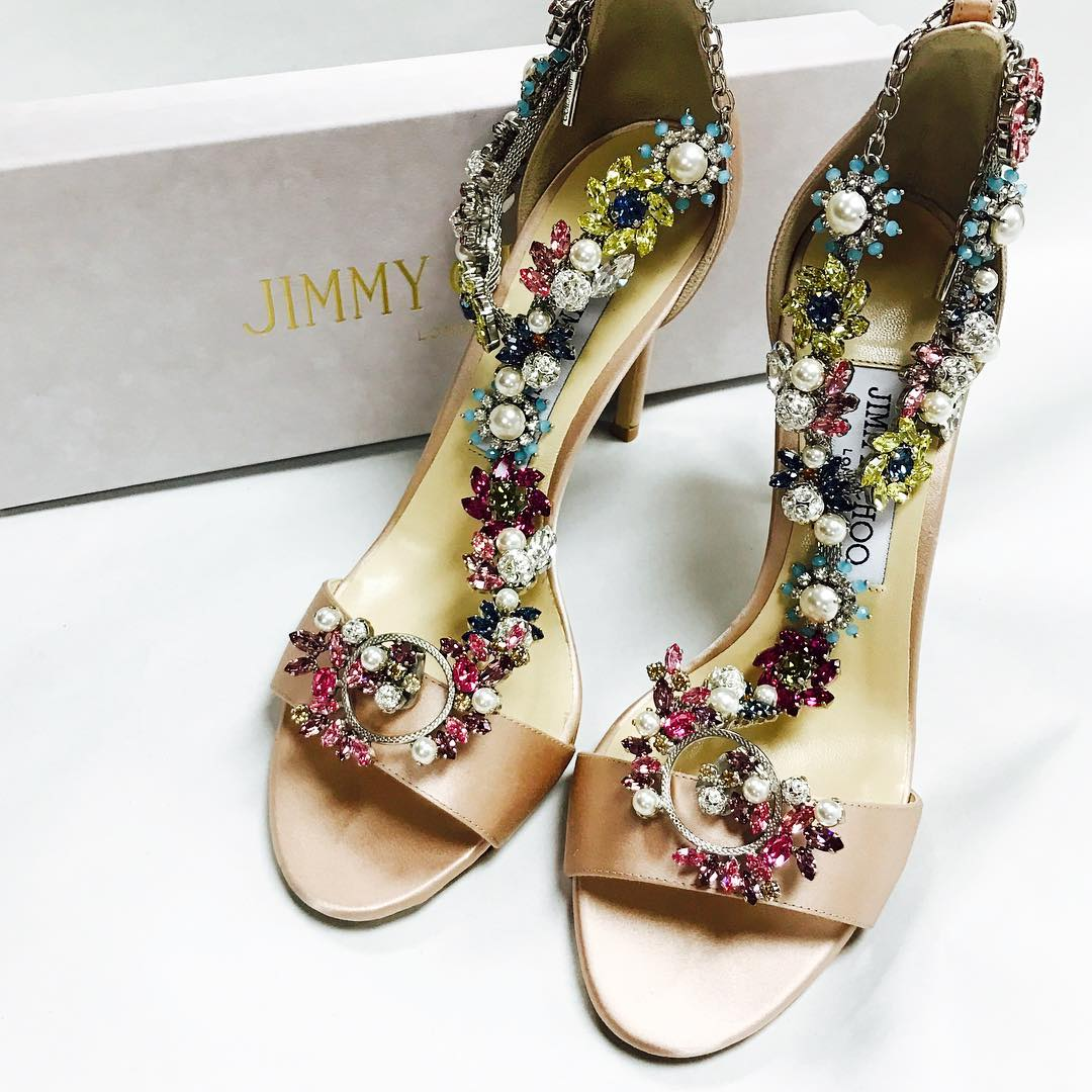 Jimmy Choo Jeweled Shoes