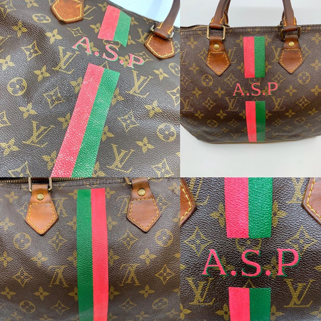 LV Monogram Refinishing