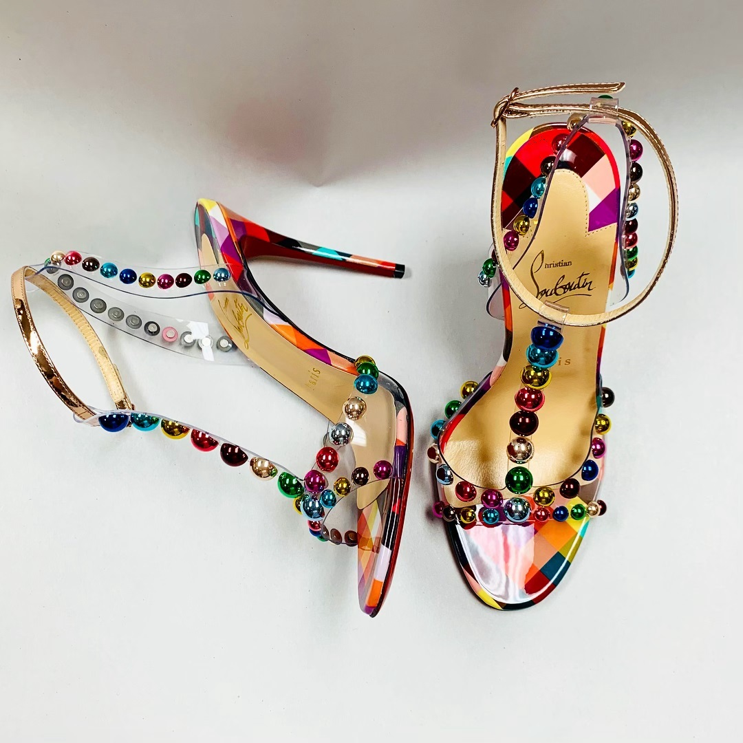 Louboutin Multicolor Shoes