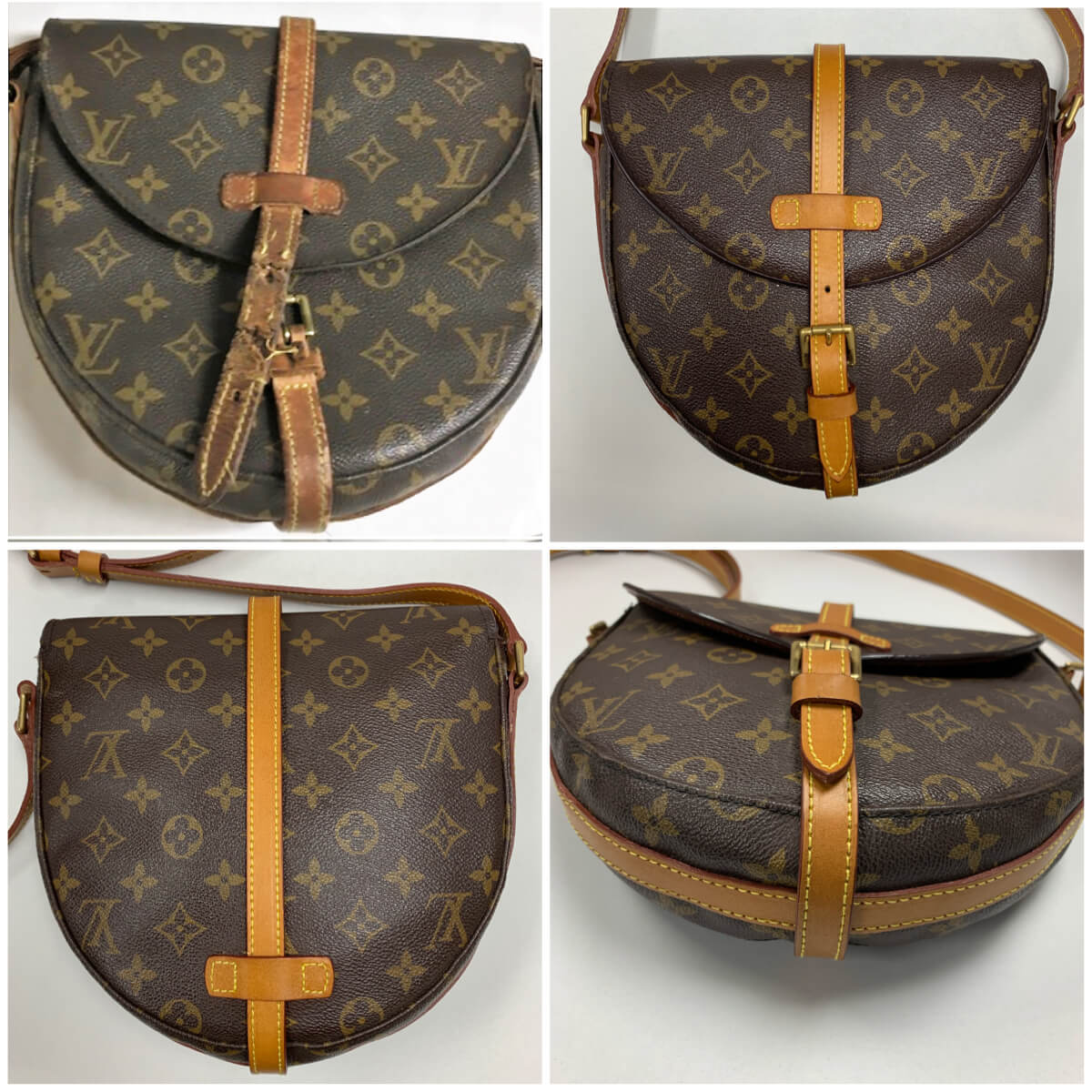 Louis Vuitton Crossbody Complete Leather Replacement