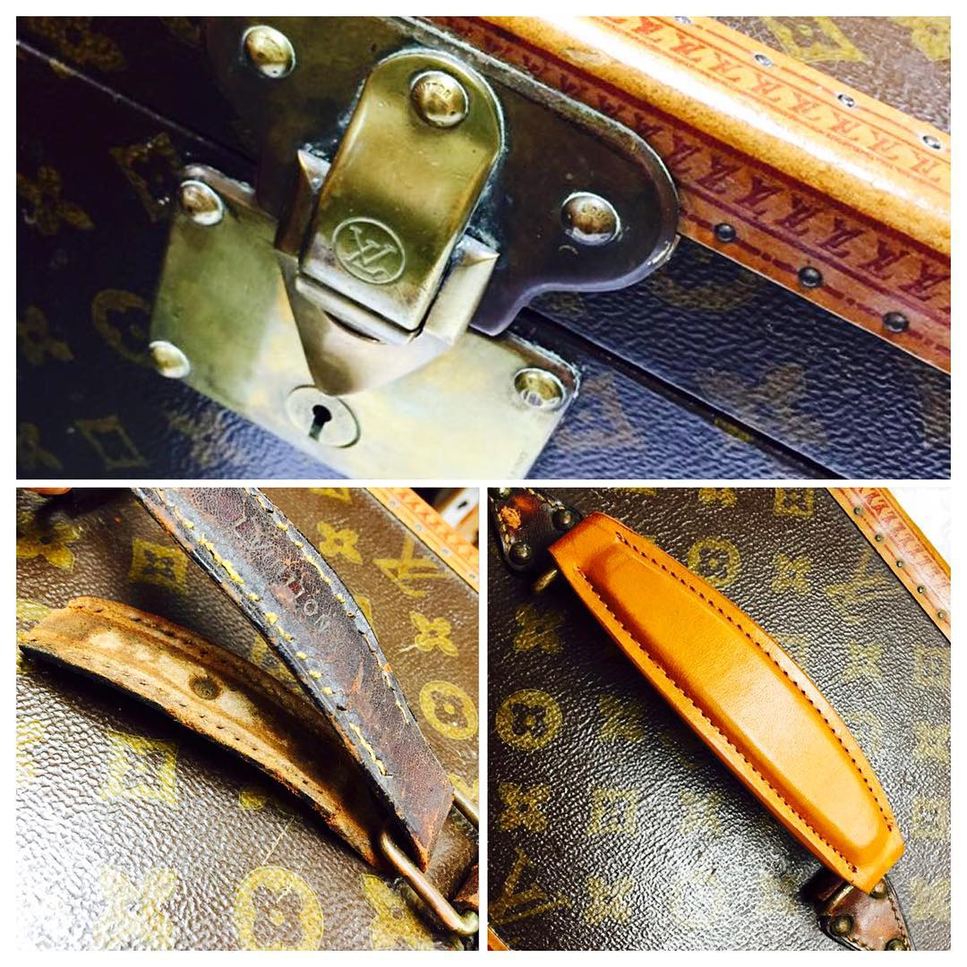 Louis Vuitton Luggage Custom Handle