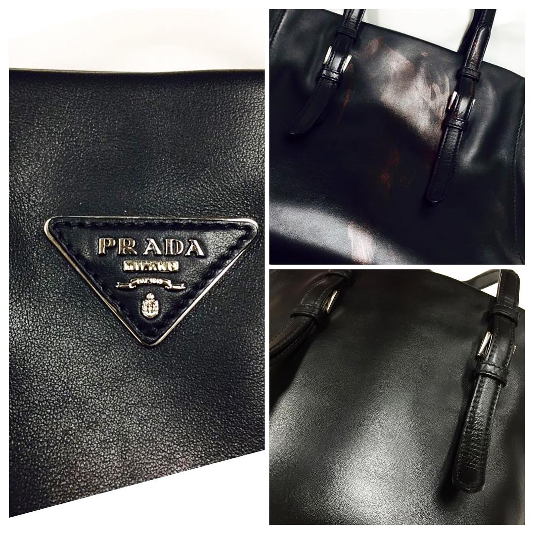 Prada Leather Refinishing