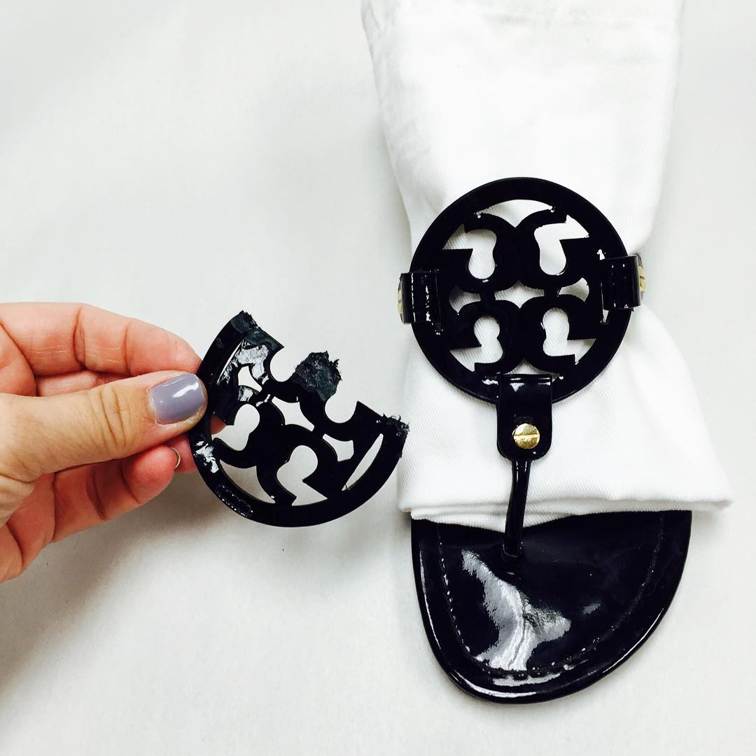 Tory Burch Custom Logo