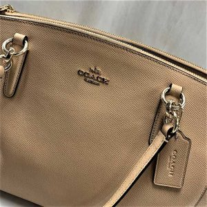 Coach-Tan-Handbag