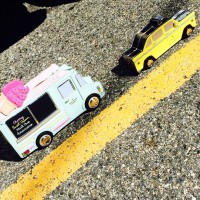 Kate Spade Ice Cream Truck and Taxi